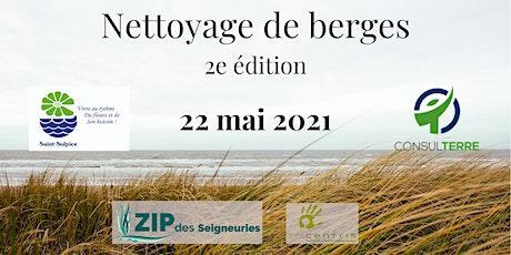 Nettoyage de berges St-Sulpice (2e édition) tickets