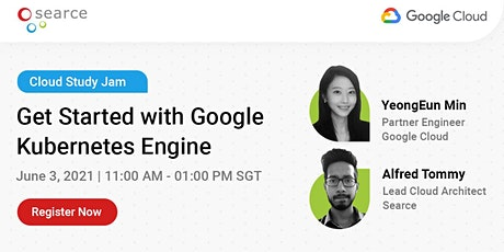 Cloud Study Jam | Get Started with Google Kubernetes Engine tickets
