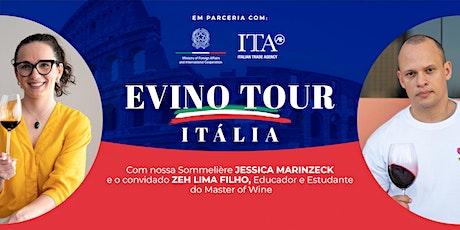 Evino Tour Itália - Curso básico de vinhos italianos entradas