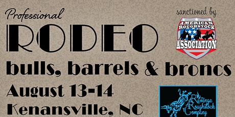 Kenansville NC Pro Rodeo Bulls, Broncs and Barrels tickets