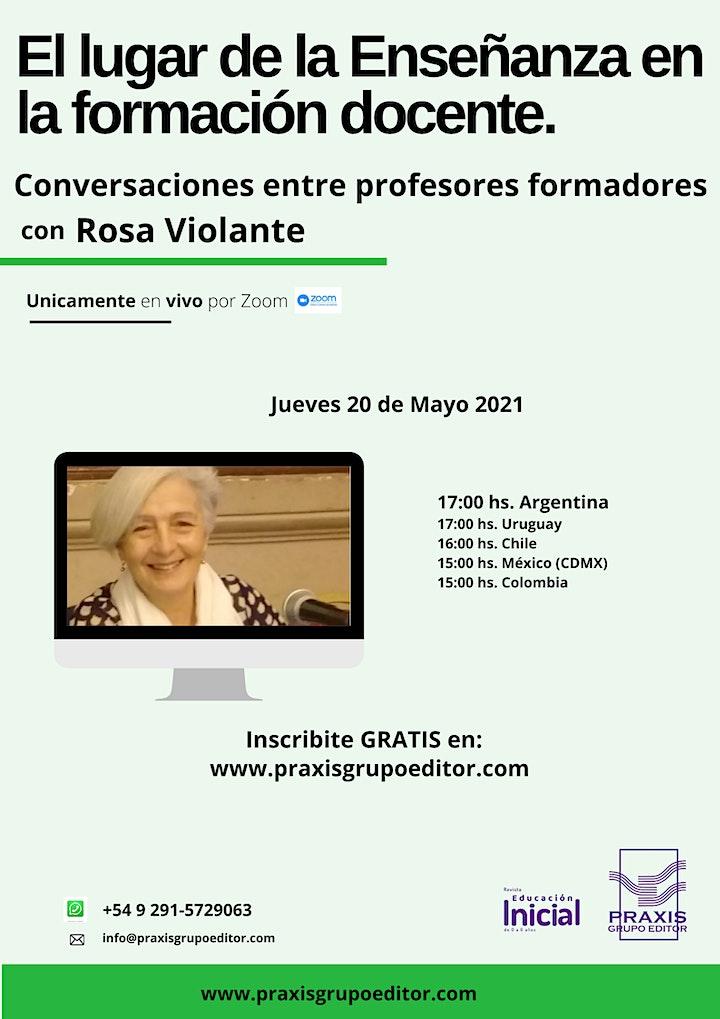 Imagen de Conversaciones entre profesores formadores