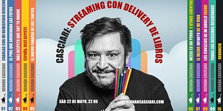 STREAMING HERNAN CASCIARI SÁBADO 22 DE MAYO boletos