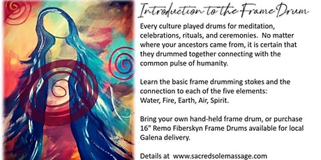 Women's Frame Drumming- Introduction to the 5 Elements tickets