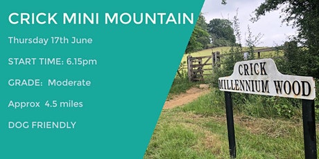 CRICK MINI MOUNTAIN | 4.5 MILES | MODERATE | NORTHANTS tickets
