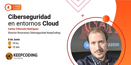 Webinar: Ciberseguridad en entornos Cloud boletos