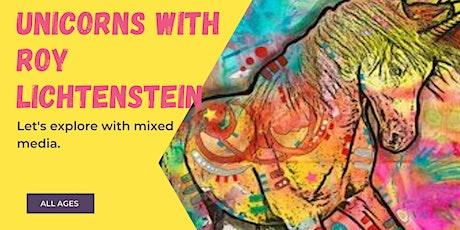 Unicorns with Roy Lichtenstein tickets