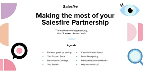 Introduction to Salesfire Partnerships tickets