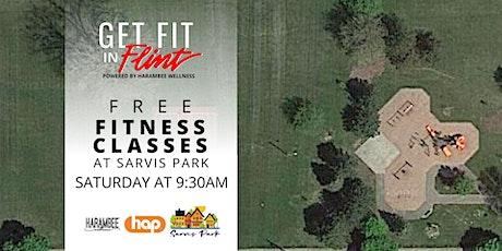 Get Fit in Flint - Sarvis Park tickets