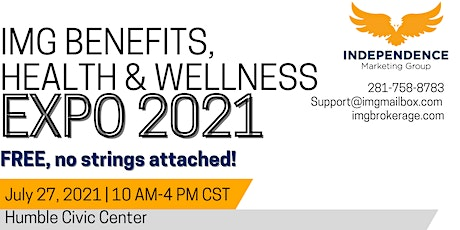 IMG Benefits, Health, and Wellness Expo 2021 tickets
