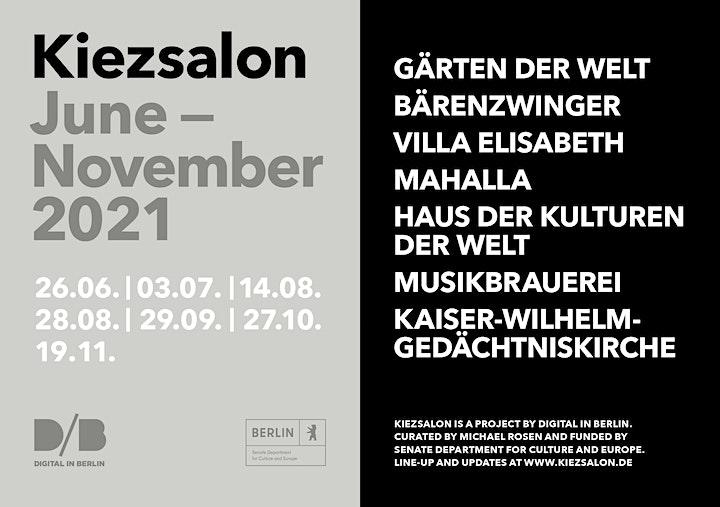 Kiezsalon w/ Anna von Hausswolff at Kaiser-Wilhelm-Gedächtniskirche: Bild