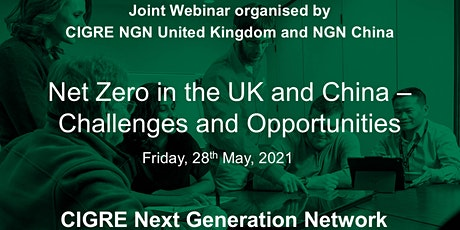 Net Zero in the UK and China - Challenges and Opportunities tickets