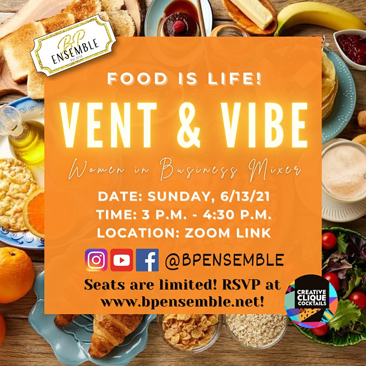 Vent & Vibe Women in Business Mixer image