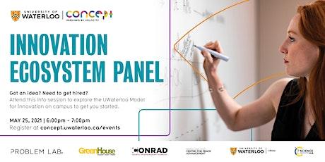 S21: Innovation Ecosystem Panel tickets