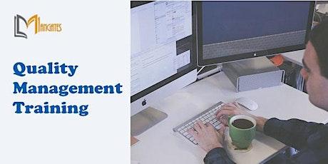 Quality Management 1 Day Virtual Live Training in Queretaro biglietti
