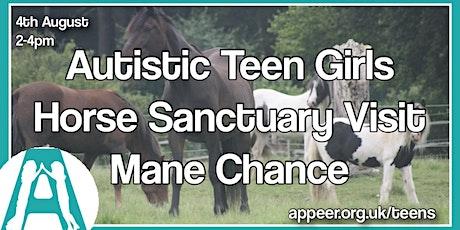 Appeer Teen Girls' Mane Chance Horse Sanctuary Visit (13-18yrs) tickets