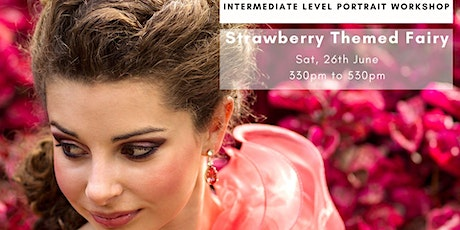 Strawberry Fairy at Canning Reserve - Portrait model by Lamia Emilia tickets