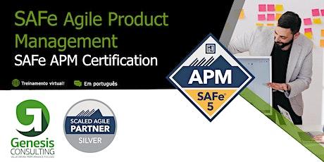 SAFe Agile Product Management  Live OnLine - Português ingressos