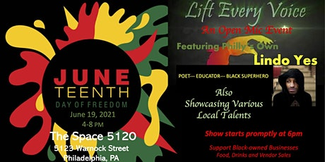 Lift Every Voice; A Juneteenth Celebration tickets
