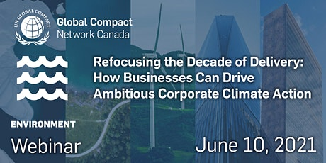 How Businesses Can Drive Ambitious Corporate Climate Action tickets