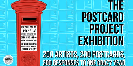 The Postcard Project Exhibition - Opening Night Event tickets
