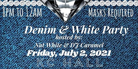 Denim and White Party tickets