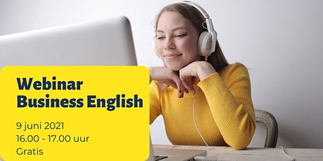 Webinar Business English: How to avoid miscommunication in Business English tickets