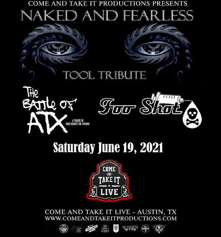 NAKED AND FEARLESS: Tool Tribute image