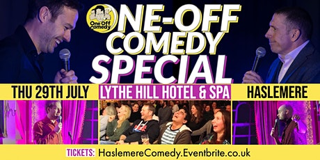 One Off Comedy Special at Lythe Hill Hotel & Spa - Haslemere tickets