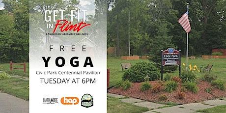 Get Fit in Flint - Free Yoga tickets