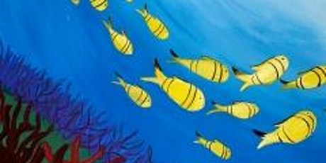 """Paint and Sip Event """"School of Fish"""" tickets"""
