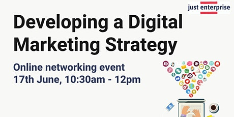 Developing a Digital Marketing Strategy Online Networking Event tickets
