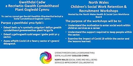 Children's Social Work Recruitment - Conwy and Denbighshire biglietti