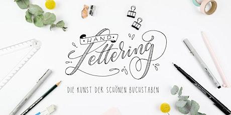 Workshop: Handlettering - Die Basics Tickets