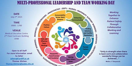 Multi-Professional Leadership  and Team Working Day tickets