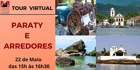 TOUR VIRTUAL: PARATY E ARREDORES ingressos