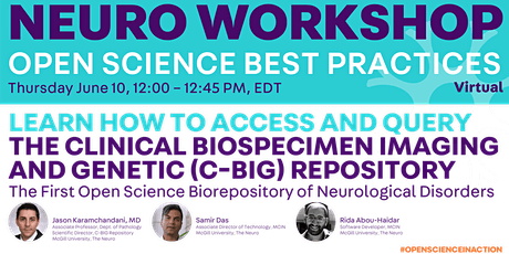 Open Science Best Practices billets