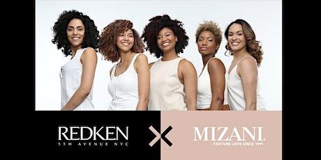 Mizani Texture and Redken Blonding tickets