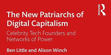 New Patriarchs of Digital Capitalism Book Launch tickets