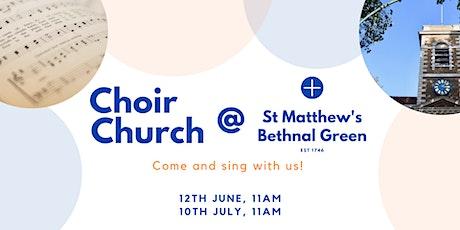 Choir Church @ St Matthew's: Taster Day + Picnic tickets