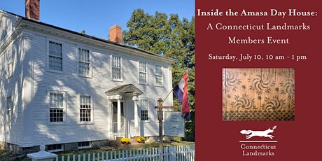 Inside the Amasa Day House: A Connecticut Landmarks Members Event tickets
