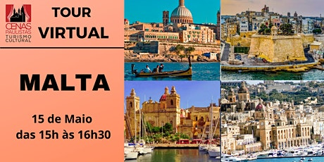 TOUR VIRTUAL: MALTA ingressos