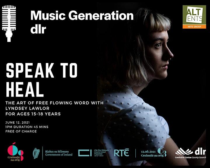 Music Generation dlr: Explore The Rhythm of Spoken Word  - Speak to Heal image