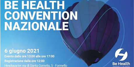 Convention Be Health biglietti