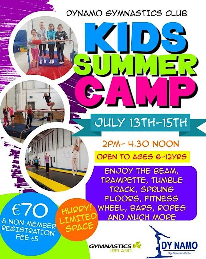 2nd DyNamo Gymnastics Club Fun Summer Camp for non-members image