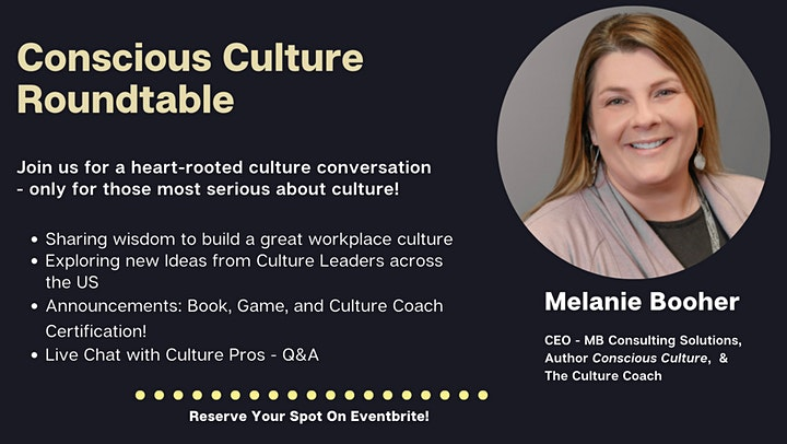 Conscious Culture Roundtable image