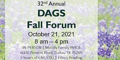 DAGS Fall Forum | Dementia Friendly is Texas Friendly, Y'All tickets