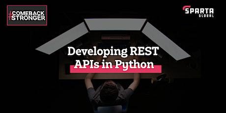 Developing REST APIs in Python (using Flask) bilhetes