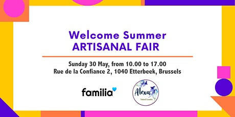 Artisanal Fair Brussels. Summer Edition billets