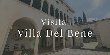 Visita in sicurezza a Villa Del Bene biglietti