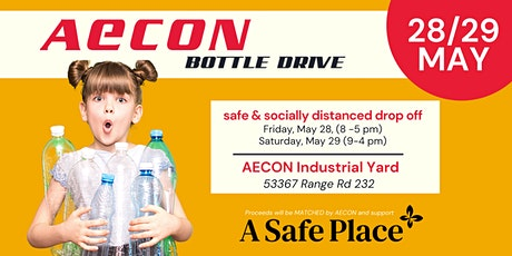 AECON Bottle Drive in Support of A Safe Place tickets